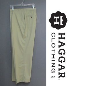 NEW Haggar Work To Weekend Chinos Celery Size 40